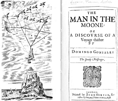 Francis Godwin. Man in the Moone