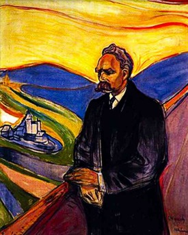 Nietsche by E.Munch